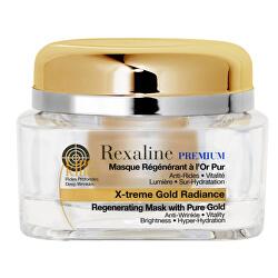 Regenerační maska s 24karátovým zlatem Premium Line Killer Gold Radiance 50 ml