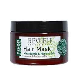 Maska na vlasy s výtažky z makadamie a moringy Beauty & Care (Hair Mask) 360 ml