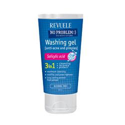 Umývací gél pre problematickú pleť 3v1 No Problem (Washing Gel Anti-Acne & Pimples) 200 ml