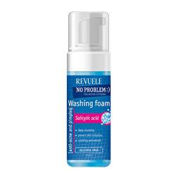 Umývacia pleťová pena No Problem (Washing Foam Anti-Acne & Pimples With Salicylic Acid) 150 ml