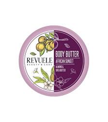 Hydratační tělové máslo African Sunset Almond & Shea (Body Butter) 200 ml