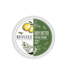 Hydratační tělové máslo pro citlivou pokožku Tropical Passion Coconut & Marula (Body Butter) 200 ml