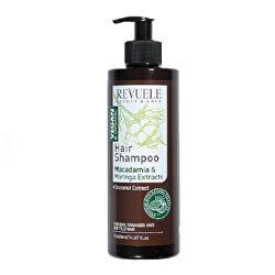 Šampon s výtažky z makadamie a moringy Beauty & Care (Hair Shampoo) 400 ml