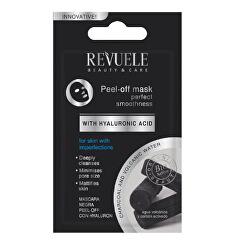 Zlupovacia maska s aktívnym uhlím a kyselinou hyalurónovou Beauty & Care (Peel Off Mask) 7 ml