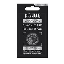 Zlupovacia maska s aktívnym uhlím Beauty & Care (Black Mask Peel Off) 7 ml