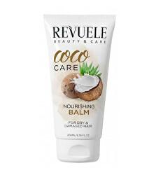 Vyživující balzám pro suché a poškozené vlasy Coco Care (Nourishing Balm) 200 ml