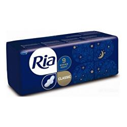 Dlouhé hygienické vložky s křidélky Ria Classic Night 9 ks