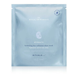 Hydratačná textilné pleťová maska The Ritual of Namaste ( Hydrating Bio-Cellulose Sheet Mask) 24 ml