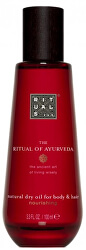 Suchý olej na tělo a vlasy The Ritual Of Ayurveda (Natural Dry Oil For Body & Hair) 100 ml