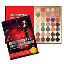 Paletka 35 očních stínů Rudementary Speyeshadow (35 Eyeshadow Palette) 52,5 g