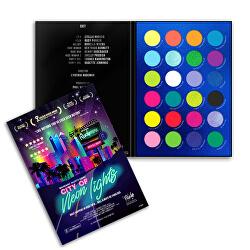 Paletka očních stínů City of Neon Lights 36 g