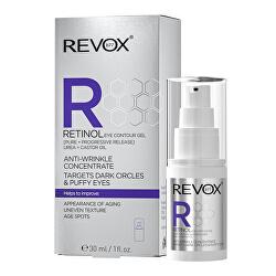 Oční gelový krém Retinol (Eye Contour Gel) 30 ml