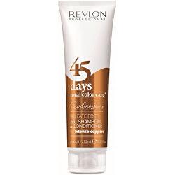 Šampon a kondicionér pro intenzivní měděné odstíny 45 days total color care (Shampoo&Conditioner Intense Coppers) 275 ml