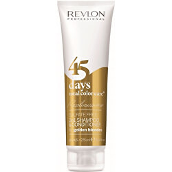 Šampon a kondicionér pro zlatavé odstíny 45 days total color care (Shampoo&Conditioner Golden Blondes) 275 ml