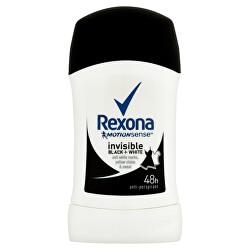 Tuhý deodorant Motionsense Invisible Black+White 40 ml