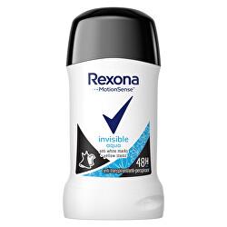 Tuhý deodorant Women Invisible Aqua 40 ml