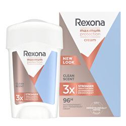 Tuhý deodorant Women Maximum Protection Clean Scent 45 ml
