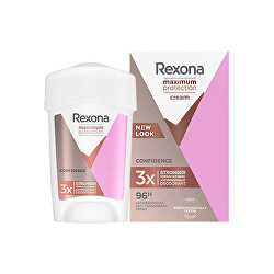 Tuhý deodorant Women Maximum Protection Confidence 45 ml