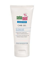 Ošetrujúce pleťový gél Clear Face(Care Gel) 50 ml