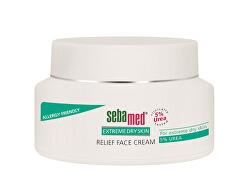 Upokojujúci krém na tvár s 5% ureou Urea(Relief Face Cream) 50 ml