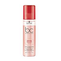 Bezoplachový kondicionér v spreji pre poškodené vlasy BC Bonacure (Peptide Repair Spray Conditioner) 200 ml