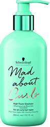 Jemný šampon pro kudrnaté vlasy Mad About Curls (High Foam Cleanser) 300 ml