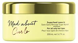 Bezoplachová kúra pro kudrnaté vlasy Mad Abouth Curls (Superfood Leave-In) 200 ml