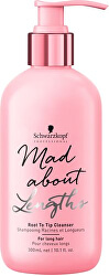 Sampon hosszú hajra Mad Abouth Lengths (Root to Tip Cleanser) 300 ml
