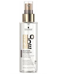 Bezoplachová ochranná mlha pro všechny typy blond vlasů BLONDME Blonde Wonders (Glaze Mist) 150 ml