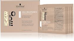 Detoxikační vitamínová kúra pro matné blond vlasy BLONDME (Vitamin Shot) 5 x 5 g