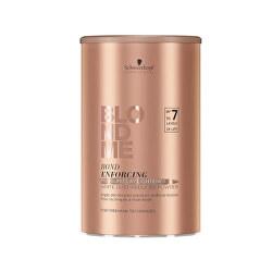 Zesvětlující pudr s obsahem jílu BLONDME Bond Enforcing (Premium Clay Lightener) 350 g