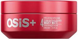 Ultra silný zmatňujúci krém na vlasy OSIS mighty Matte (Ultra Strong Matte Cream) 85 ml