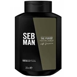 Čisticí šampon proti lupům pro muže SEB MAN The Purist (Purifying Shampoo) 250 ml