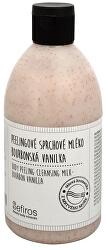 Peelingové sprchové mléko Bourbonská vanilka (Body Peeling Cleansing Milk) 500 ml