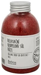 Relaxační koupelová sůl Růže (Original Dead Sea Bath Salt) 500 g