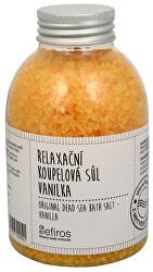 Relaxační koupelová sůl Vanilka (Original Dead Sea Bath Salt) 500 g