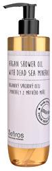 Arganový sprchový olej s minerály z Mrtvého moře (Argan Shower Oil With Dead Sea Minerals) 300 ml