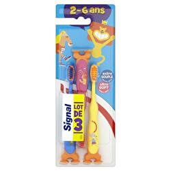 Dětský zubní kartáček Kids Ultra Soft 3 ks