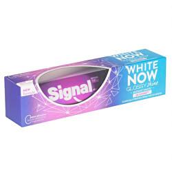 White Now Glossy Shine 75ml fogkrém