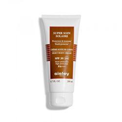 Krém na opalování SPF 30 Super Soin Solaire (Silky Body Cream) 200 ml