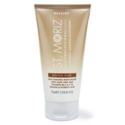 Hydratační samoopalovací noční pleťový krém Professional (Overnight Tanning Moisturiser Medium Dark) 75 ml