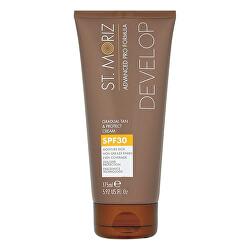 Postupné samoopalovací mléko s ochranným faktorem SPF 30 (Gradual Tan & Protect Cream) 175 ml