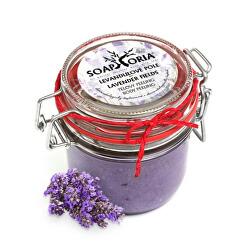 Přírodní peeling na tělo Levandulové pole (Lavender Fields Body Peeling) 255 ml