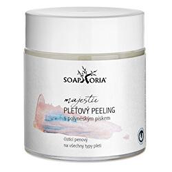 Čisticí peeling na obličej s růžovým polynéským pískem (Cleansing Peeling With Polynesian Sand) 100 ml