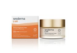 Hydratační pleťový krém proti stárnutí C-VIT (Moisturizing Facial Cream) 50 ml