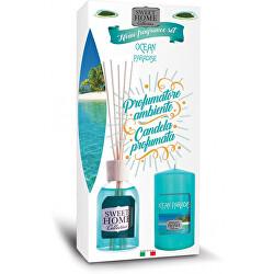 Dárková sada Ocean Paradise difuzér + svíčka