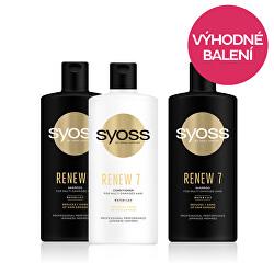 Zvýhodněné balení Šampon pro velice poškozené vlasy Renew 7 440 ml + Balzám pro velmi poškozené vlasy Renew 7 440 ml + DÁREK Šampon Renew 7 440 ml