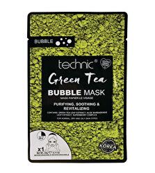 Čistiaca pleťová maska Green Tea (Bubble Mask) 20 g