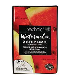 Osviežujúca pleťová maska Watermelon 2 Step Mask 25 g