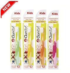 Dětský zubní kartáček extra jemný Kids